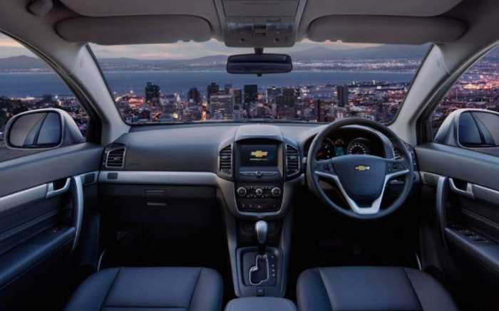 2022 Chevrolet Captiva Sport Interior