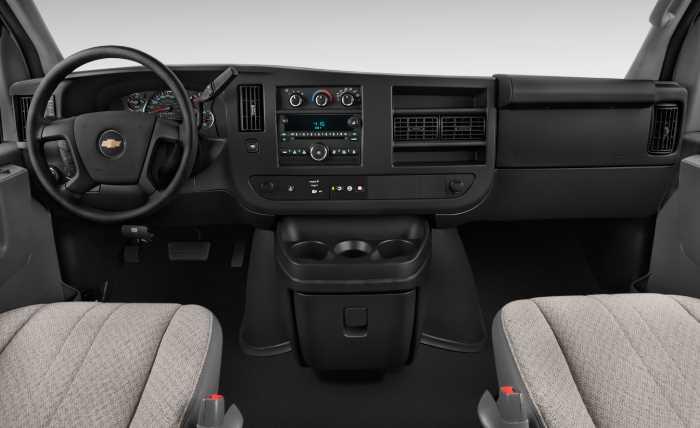 2022 Chevrolet Express 2500 Interior