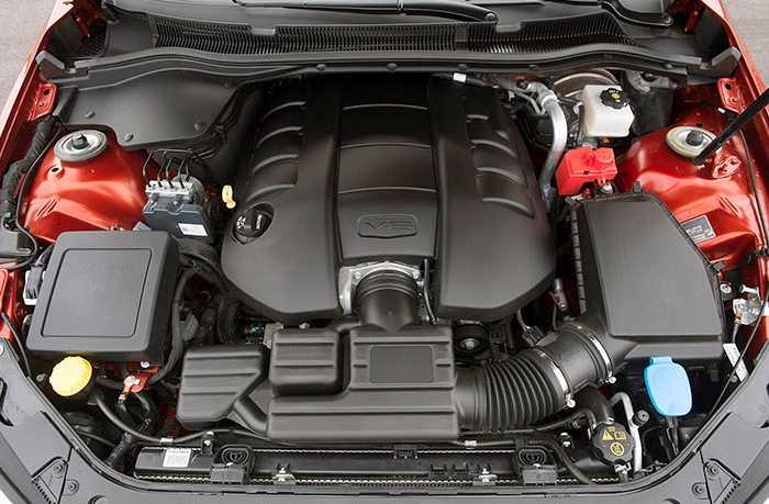 2022 Chevrolet SS Engine