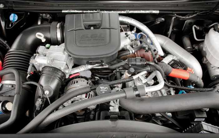 2022 Chevrolet Silverado MD Engine