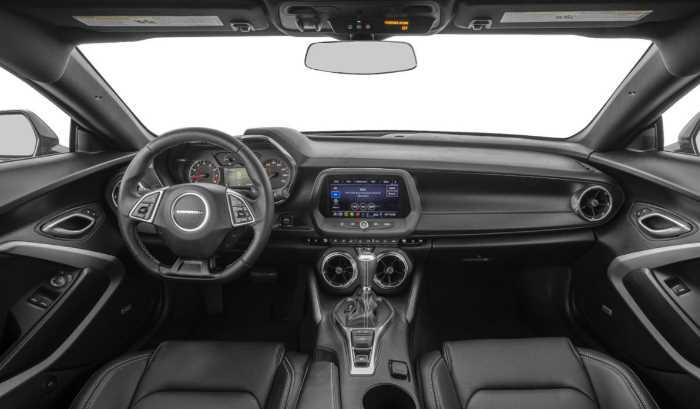 2022 Chevrolet Camaro Interior