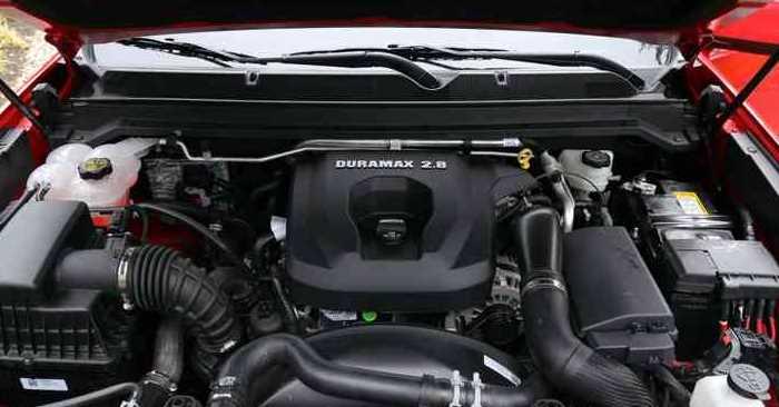 2022 Chevrolet Colorado Engine