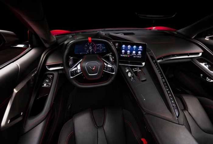 2022 Chevrolet Corvette Interior