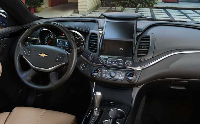 2022 Chevrolet Impala Interior