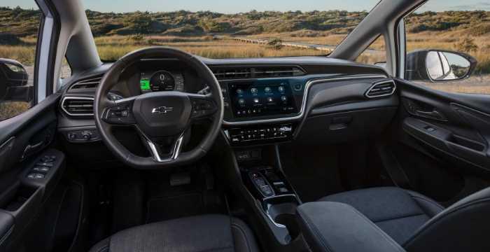 2022 Chevrolet Metro Interior