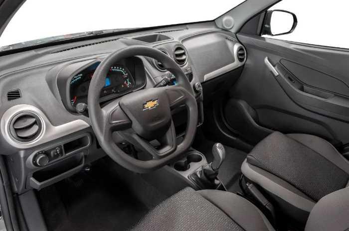2022 Chevrolet Montana Interior