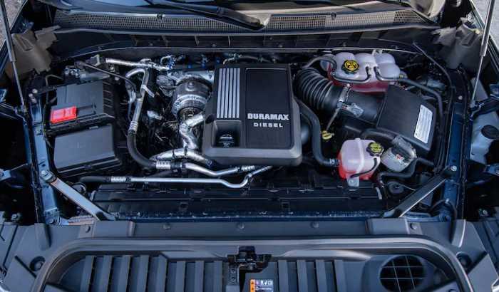 2022 Chevrolet Silverado 2500 Engine
