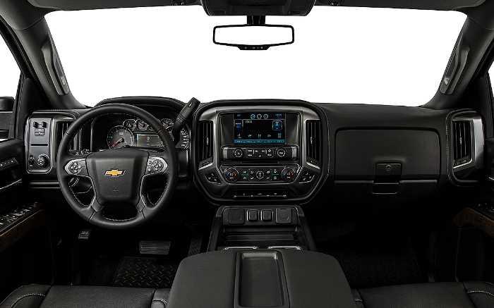 2022 Chevrolet Silverado 3500HD Interior