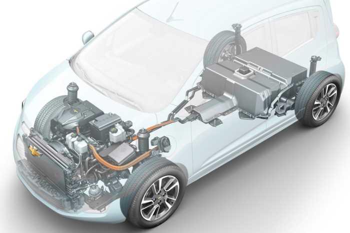 2022 Chevrolet Spark Engine