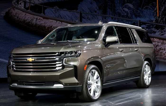 2022 Chevrolet Suburban Exterior
