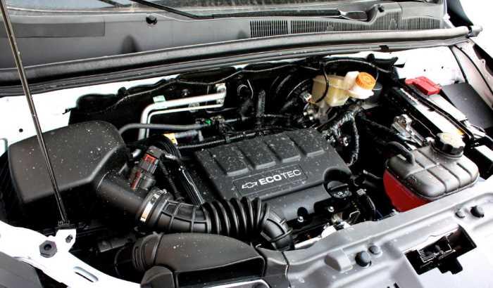2022 Chevrolet Trax Engine