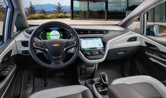 2022 Chevy Bolt Interior