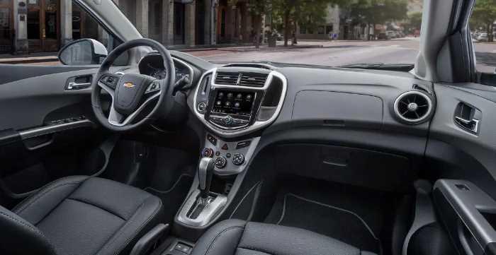 2022 Chevy Sonic Interior