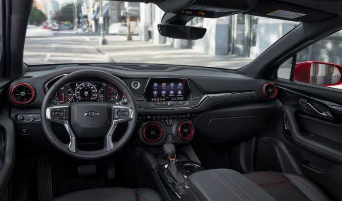 2022 Chevrolet Blazer RS Interior