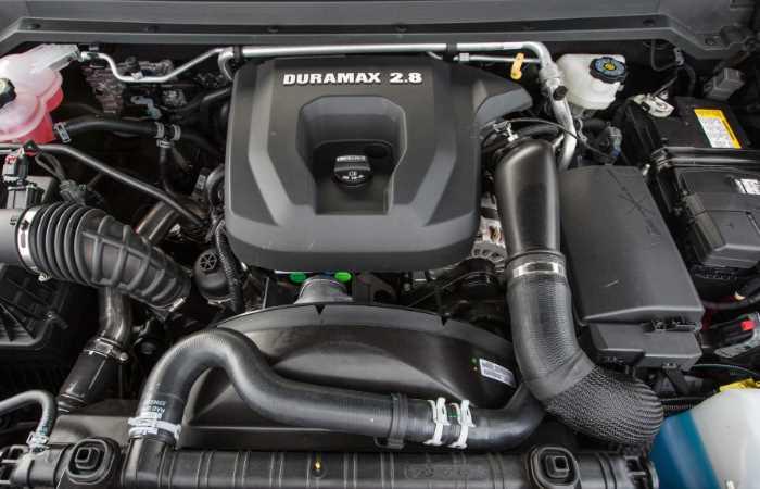 2022 Chevrolet Colorado ZR2 Engine