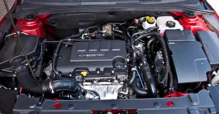 2022 Chevrolet Cruze Engine