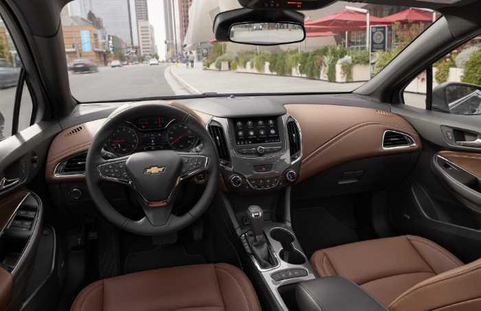 2022 Chevrolet Cruze Interior