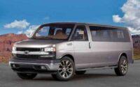 2022 Chevrolet Express Exterior