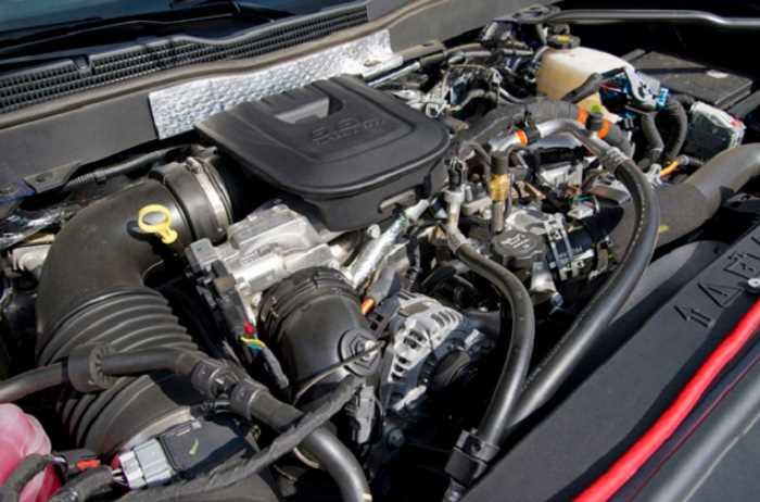 2022 Chevrolet Silverado 2500HD Engine