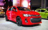 2022 Chevrolet Sonic Exterior