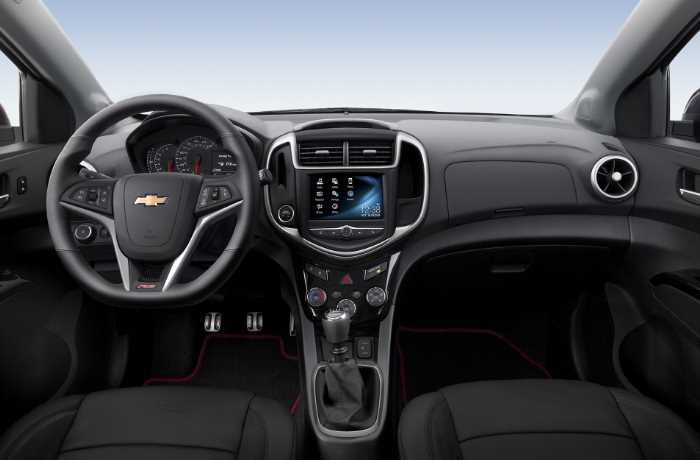 2022 Chevrolet Sonic Interior