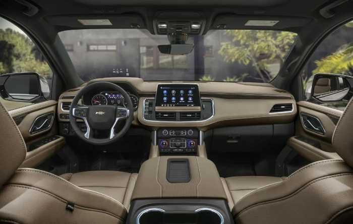 2022 Chevrolet Suburban Interior