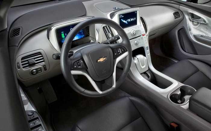 2022 Chevrolet Volt Interior