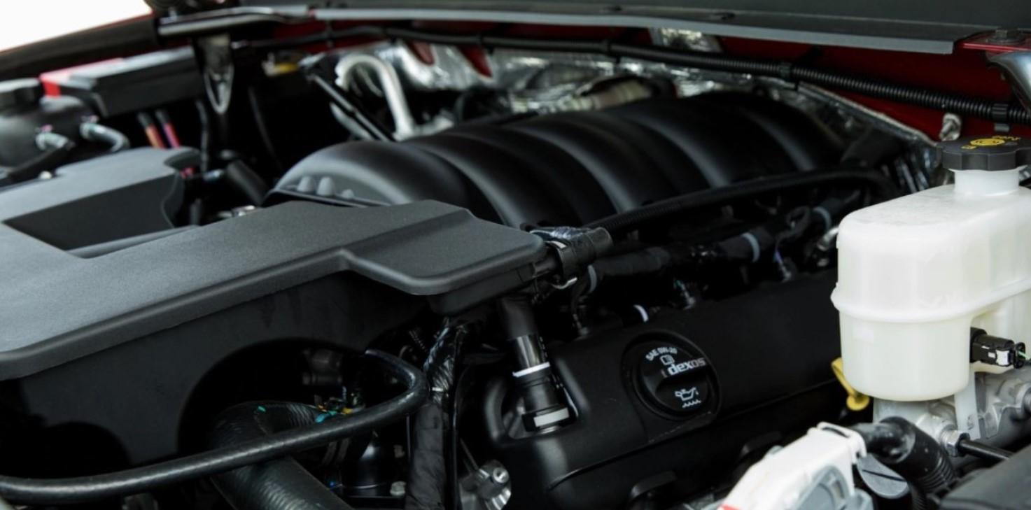 New 2022 Chevy Tahoe LTZ Engine
