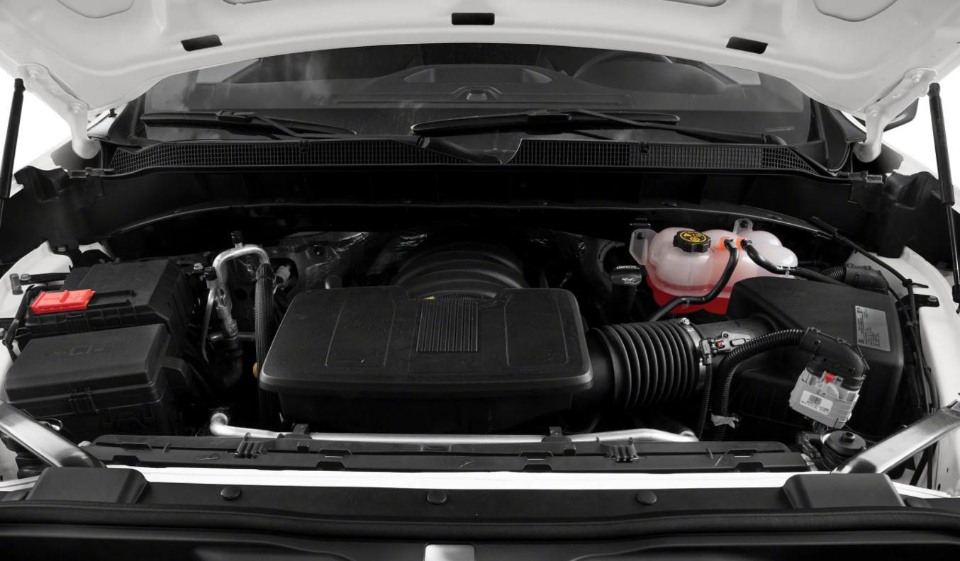 New 2023 Chevy Silverado 1500 Engine